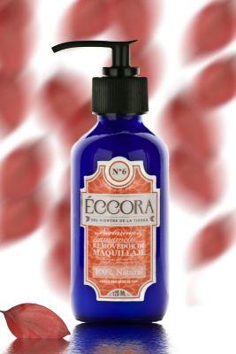 Removedor de maquillaje de nectarine y hamamelis de Eccora Artesanal