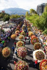 Desfile Silleteros. Fotografía cortesia Yerbabuena RRPP