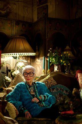 """Iris Apfel - ella es la imagen de """"individualidad"""""""