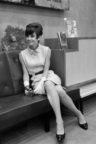 Audrey Hepburn en 1965 Harper Bazaar