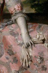 Detalle de la reina Maria Carolina de Austria