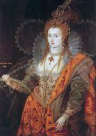 La reina Isabel I de Inglaterra