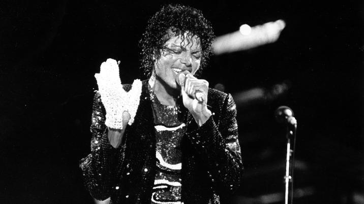 El inolvidable guante de cristales de Michael Jackson
