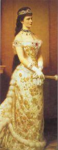 La emperatriz austriaca Sisi