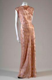 Vestido en seda de 1933 - Chicago History Museum