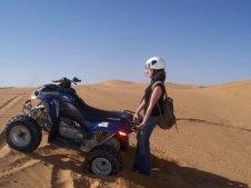 Paseo en cuatrimoto por las dunas