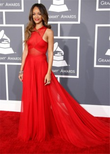 sexy-sheer-red-chiffon-rihanna-grammys-2013-red-carpet-celebrity-dress_3