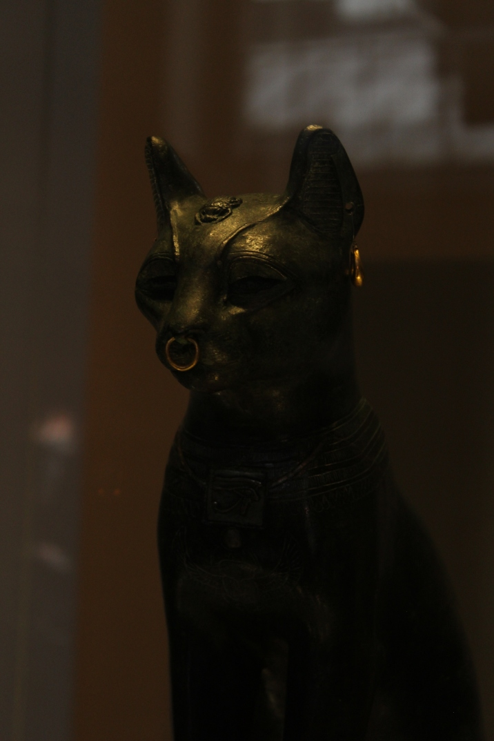 The Gayer-Anderson Cat en el British Museum